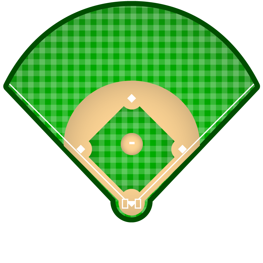Baseballfield color